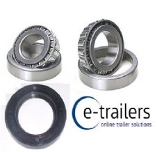 Trailer Bearing set 501349 & 15123 15245 & seal 300 187 37 - Bradley 250mm DRUM